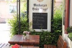 Meckatzer-Bräu-Engel-Biergarten